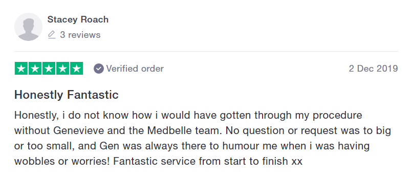 Medbelle Reviews - Stacey
