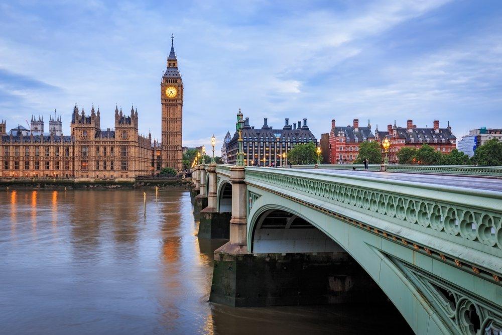 Big Ben & Parliament Buildings in London