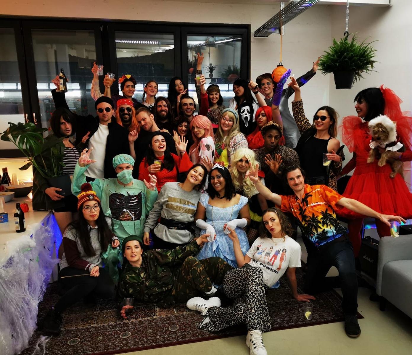Medbelle Team Spirit - Halloween Party